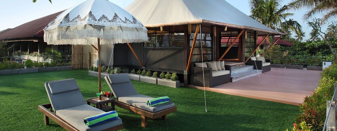 Tent Villa - Wedding Specials available!